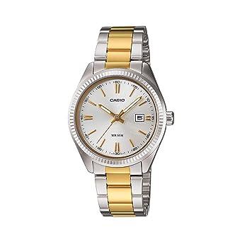 c8f3373507b Casio - LTP-1302SG-7A - Classic Women s Quartz Analogue Watch - Silver Dial