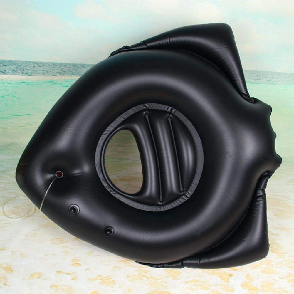 30//20//15cm Huiyin Inflatable Boat,Childrens Durable Cooling Swimming Float Boat Sprinking Toy Portable Environmental Protection Inflatable Pirate Boat Swim Rings With Water Spray Toy