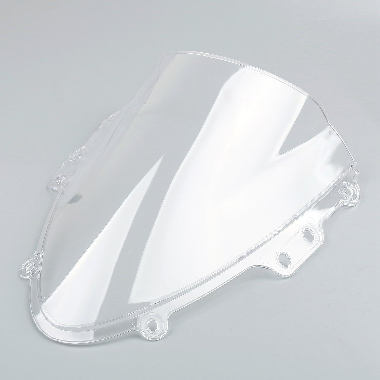 Artudatch Pare-brise moto double bulle pour S U Z U K I GSXR 600//750 2004-2005 K4