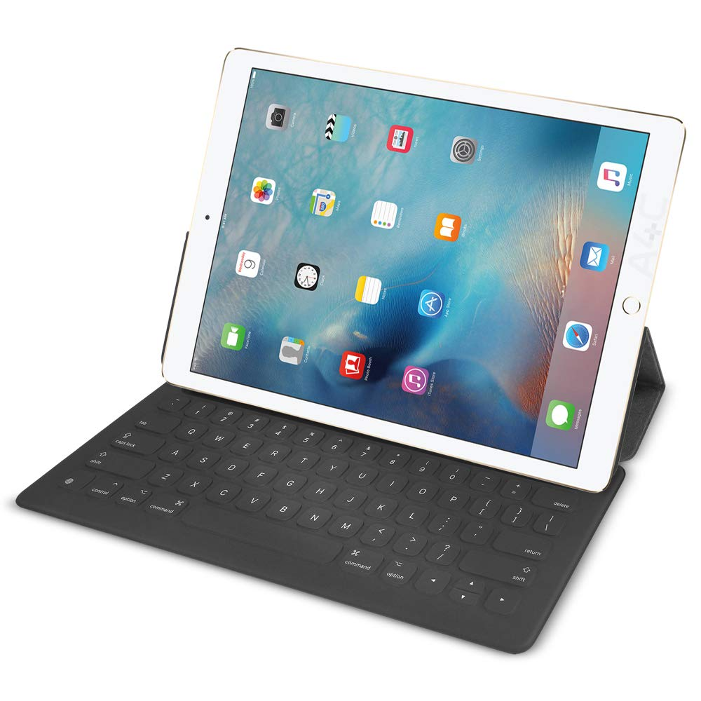 Apple Smart Keyboard for iPad Pro 12.9in (for 1-2 generation) MJYR2LL/A (Renewed) by Apple (Image #1)