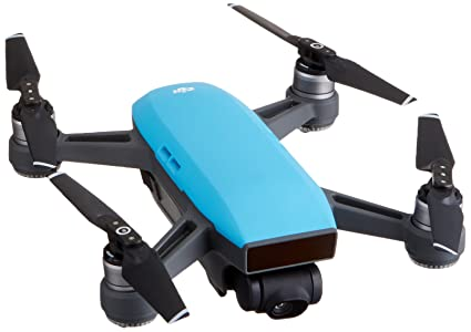 Dji Spark Drone >> Amazon Com Dji Spark Mini Drone Sky Blue Cp Pt 000733 Camera