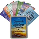 Growth Mindset Positive Affirmation Cards - Encourage and Inspire Students of Any Age to Develop a Growth Mindset