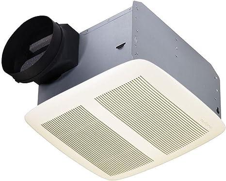 Amazon Com Nutone Qtxen110 110 Cfm 0 9 Sones Energy Star Bath Fan Home Kitchen