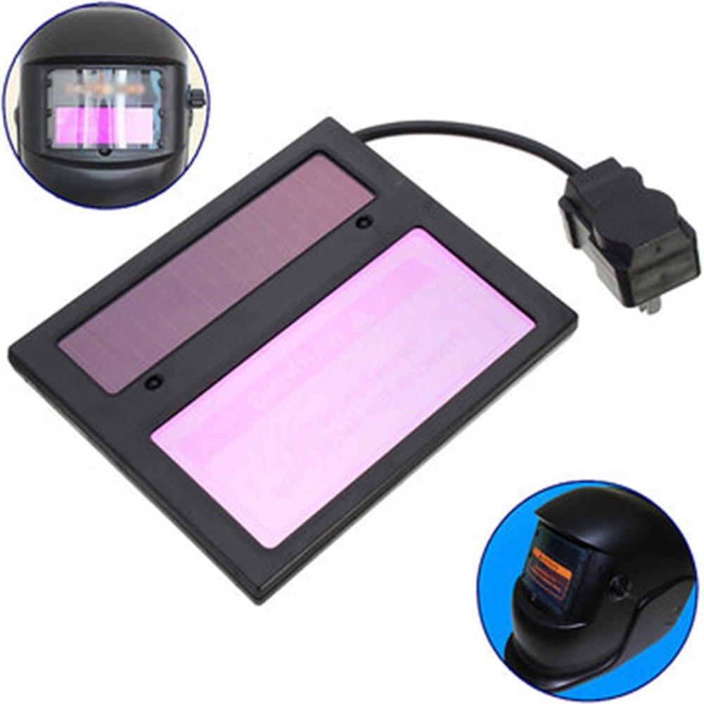 Solar Auto oscurecimiento casco de soldadura lente filtro pantalla, autooscurecimiento horizontal filtro, máscara lente de automatización filtro pantalla ...