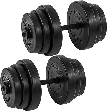 15 kg kurzhantelset hantelset Haltères Poids Disques Musculation Entraînement Fitness