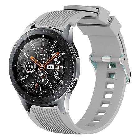 wpOP59NE - Correa de Reloj para Samsung Gear S4 S3 2 S380 (20 mm ...