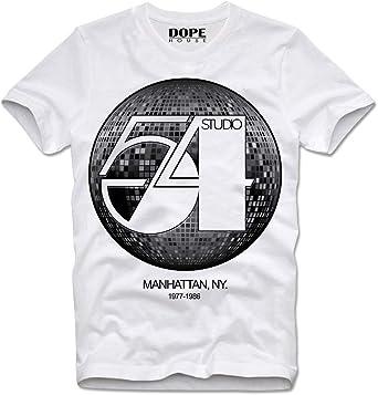 DOPEHOUSE T-Shirt Camiseta Studio 54 Retro Vintage CBGB OMFUG: Amazon.es: Ropa y accesorios
