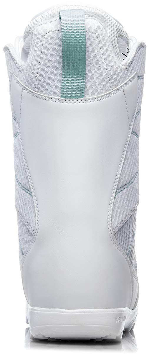 thirtytwo Exit Women's '18 Snowboard Boots, White, 9.5 by thirtytwo