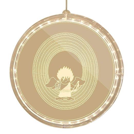 Alelife Letras de plástico Blancas con luz LED para Colgar ...