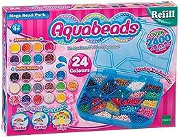 Aquabeads - Paquete de abalorios gigantes (Epoch para imaginar 79638)