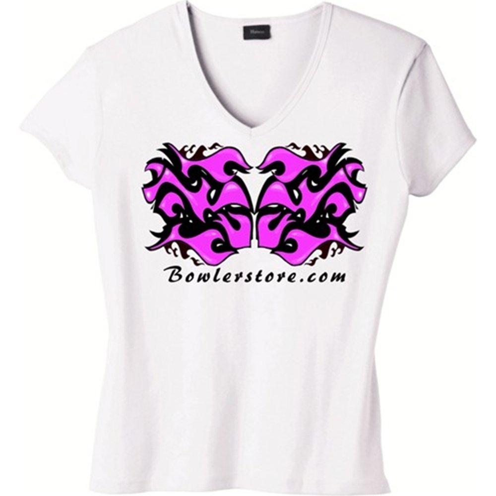 【格安SALEスタート】 ピンク炎Bowling t-shirt-ホワイト 3L ホワイト ホワイト B00DC2EF5E t-shirt-ホワイト B00DC2EF5E, ルージュブラン青山:f30110ca --- martinemoeykens.com
