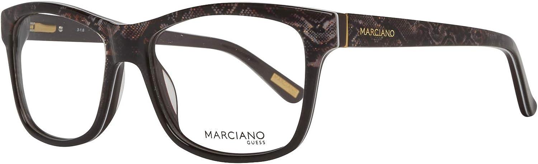 Guess GM0299-S 53005 by Marciano Brillengestelle GM0299-S 005 Cateye Brillengestelle 53 Schwarz