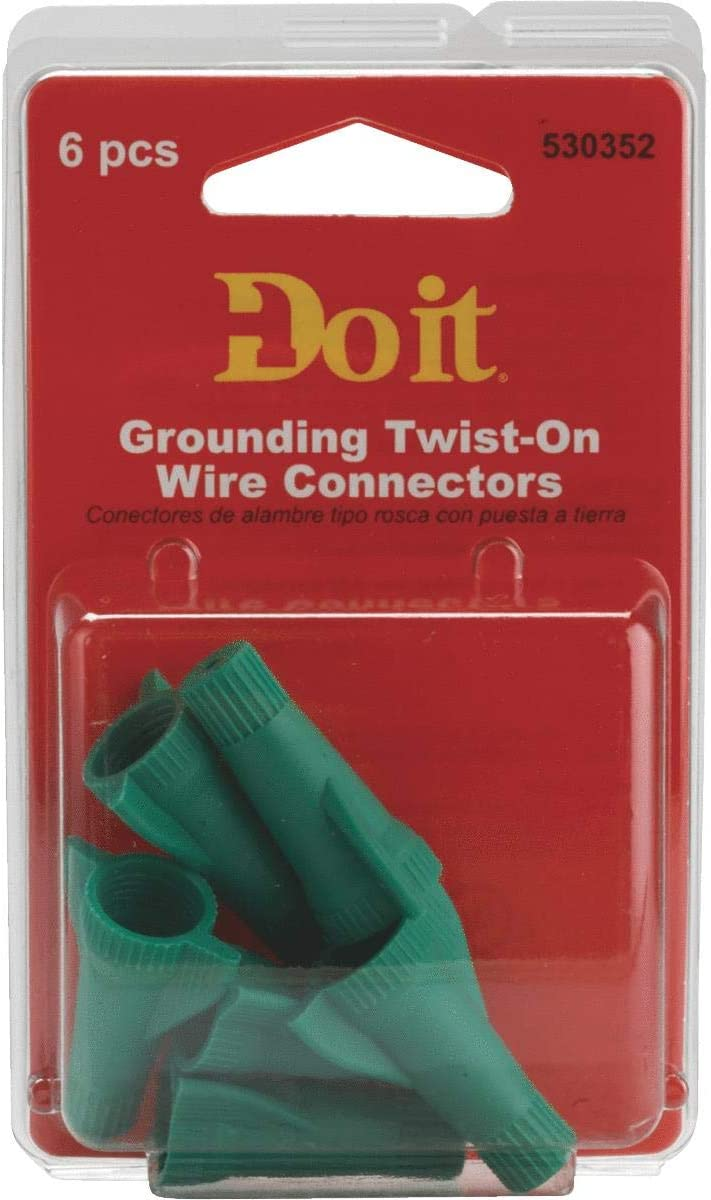 Do it Green Grounding Wing Wire Connector GROUNDING WING CONNECTOR