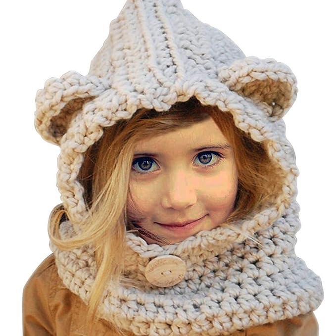 Yuccer Cappelli Inverno Bambino 08a0f2761ba6
