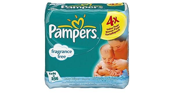 Pampers Bebé Libre De Fragancia Limpia Natural De Toallitas (64 Por Paquete X 4) (Paquete de 6): Amazon.es: Alimentación y bebidas