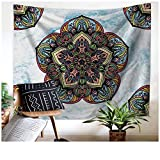 Leofanger Wall Tapestry Wall Hanging Mandala Wall Tapestry for Bedroom Indian Tapestry Bohemian Tapestry Boho Tapestries Psychedelic Wall Art Hippie Tapestry Indian Dorm Decor