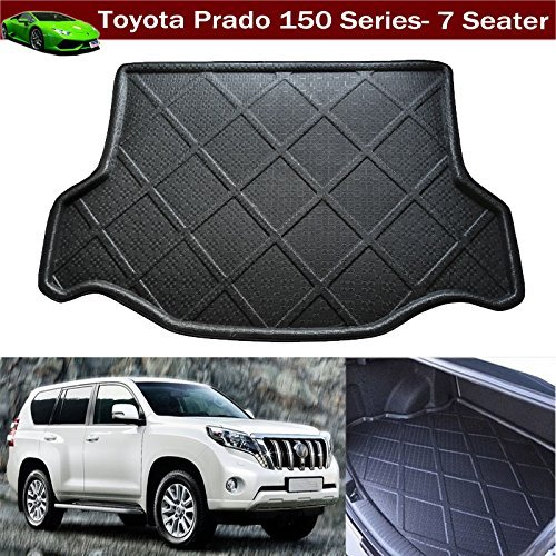 Car Boot Mat Cargo Mat Cargo Liner Cargo Tray Cargo Cover Trunk Mat Custom Fit For Toyota Land cruiser Prado 150 Series 7 Passenger 2008 2009 2010 2011 2012 2013 2014 2015 2016 2017 2018