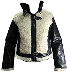 cf97b041496e Baby Phat Jacket Black and Cream Style 1357bp Large