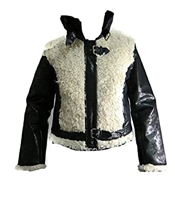 e07fe58a2fca7 Image Unavailable. Image not available for. Color: Baby Phat Jacket Black  and Cream Style 1357bp Large