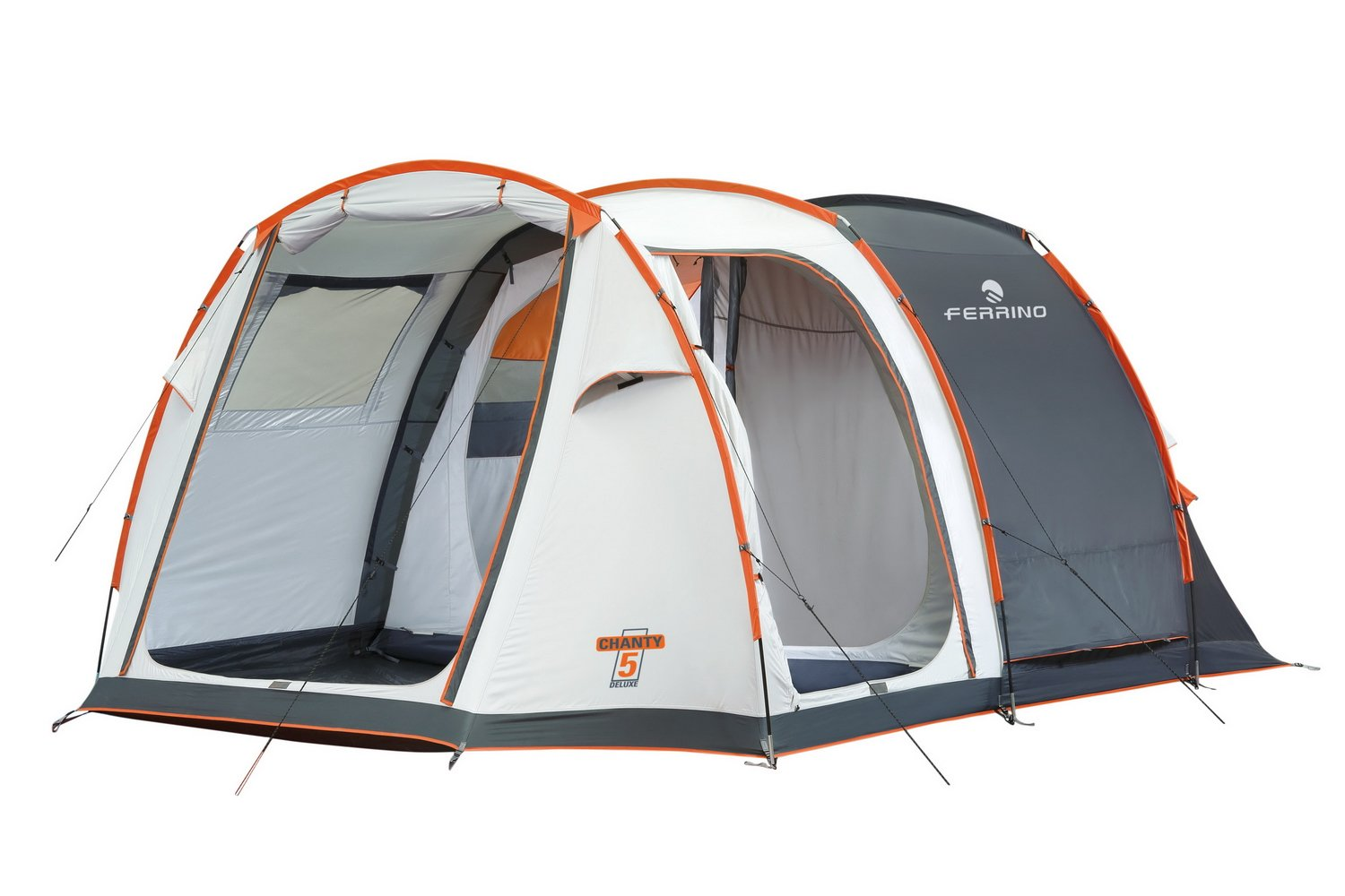 Ferrino Chanty 5 Deluxe Family - Camping Tends with Tunnel - Size 5 - Blue