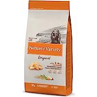 Nature's Variety Original - Pienso para perros adultos con pollo deshuesado, 12 kg