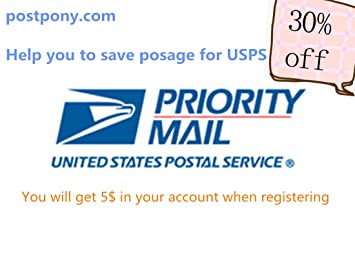 Postpony Shipping Label Print Online Service, Save Postage for USPS