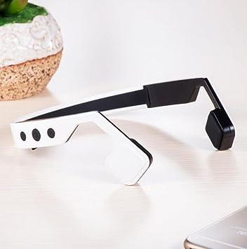 Conducción de Hueso Inteligente Auriculares Bluetooth Inalámbricos Auriculares Deportivos Impermeable Después de Colgar Auriculares Conducción de Hueso ...