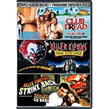 Club Dread / Killer Klowns: From Outer Space / Killer Tomatoes Strike Back