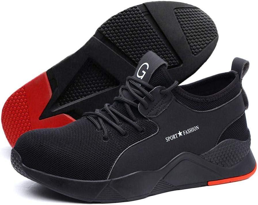 Mens Womens Lightweight Flat heel Comfy Work Shoe Mesh Breathable Sneaker Shoes