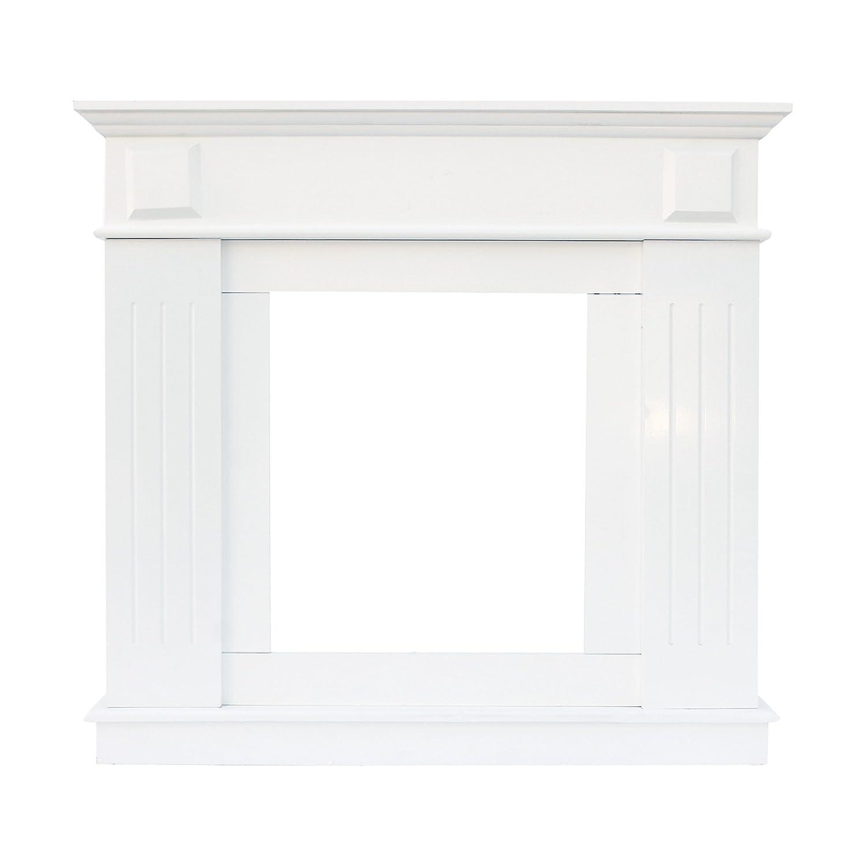 Rebecca Srl Rahmen Dekoration Kamin MDF Platte Holz Weiß Klassisch  Esszimmer (Code 0