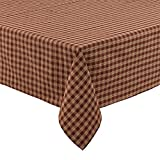 country kitchen tablecloths Park Designs Sturbridge Tablecloth, 54 x 54, Wine