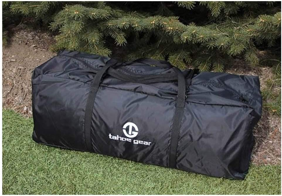 Tahoe Gear Glacier 14 Person 3-Season Family Cabin Camping Tent Packing Size
