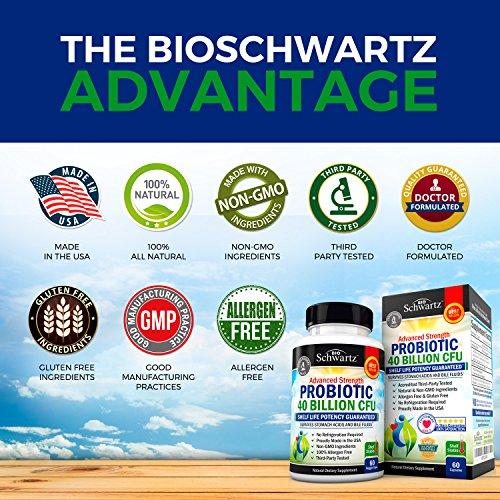 Probiotic 40 Billion Cfu Potency Until Expiration