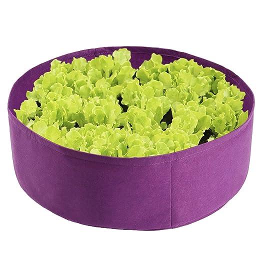 Lulalula - Cama de jardín de tela, redonda, transpirable, para ...