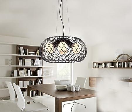 LightSei- China del Hierro Jaula de pájaros de la lámpara Creativa ...