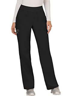 30a5f84fec5 Cherokee Workwear Revolution Women's Mid Rise Straight Leg Pull-On Scrub  Pant
