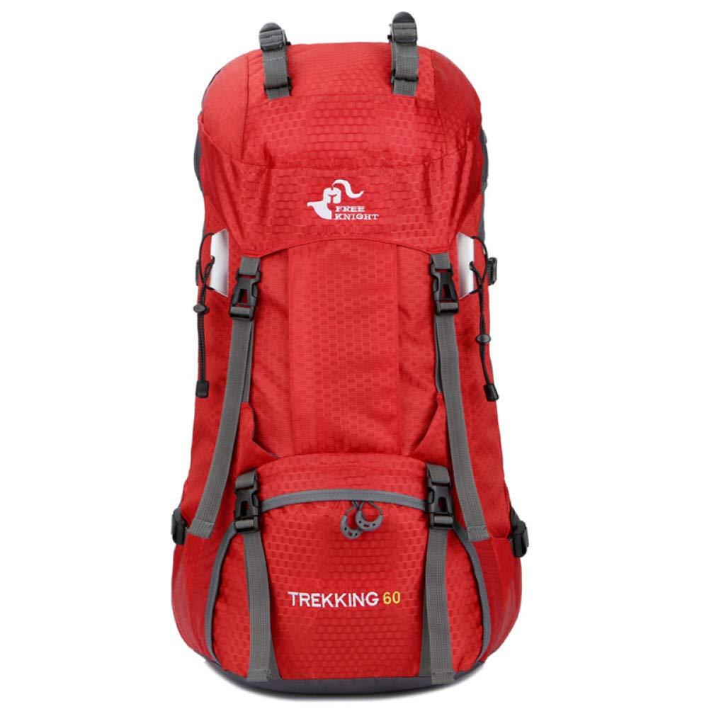 Rode kleur  XXYQ Sacs à dos de randonnée Sac à Dos étanche Housse De Pluie Sac à Dos de plein air sacs