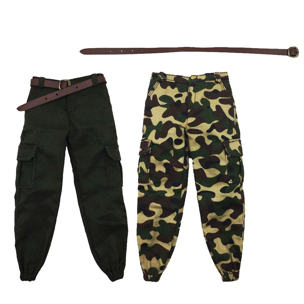 1//6 Scale Army Male Pants Trousers Suit Clothing for 12/'/' Enterbay Dragon A