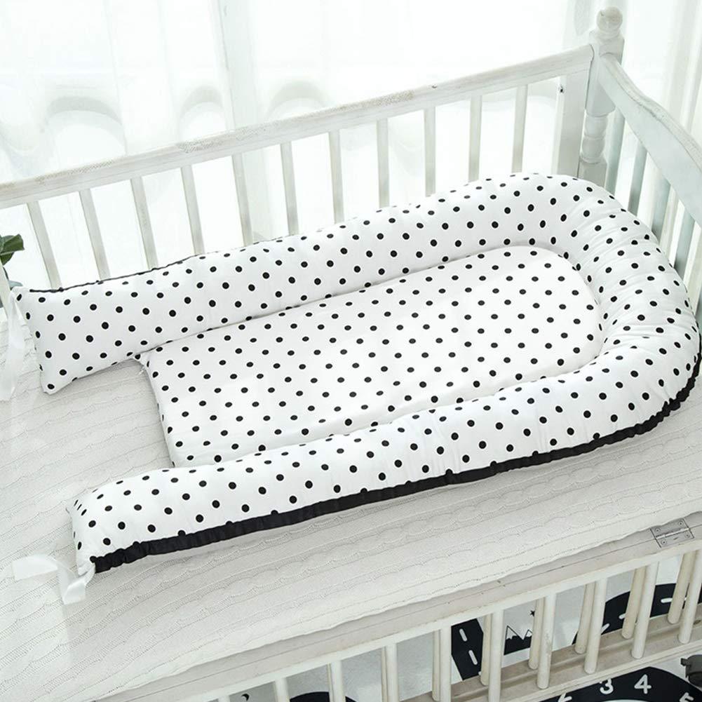 Baby Crib Travel Infant Multifunction Bed Pillows Newborn Cot Sleep Nest Pod