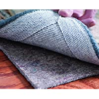 Rizzy Home Dg1000 Rug Pad Felt-Cushion Pad Area Rug, 5 X 8, Gray