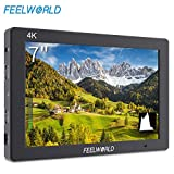 """Best HD Monitor For DSLR Shoes - Feelworld T7 Camera Monitor 7"""" 4K HDMI Input/ Review"""
