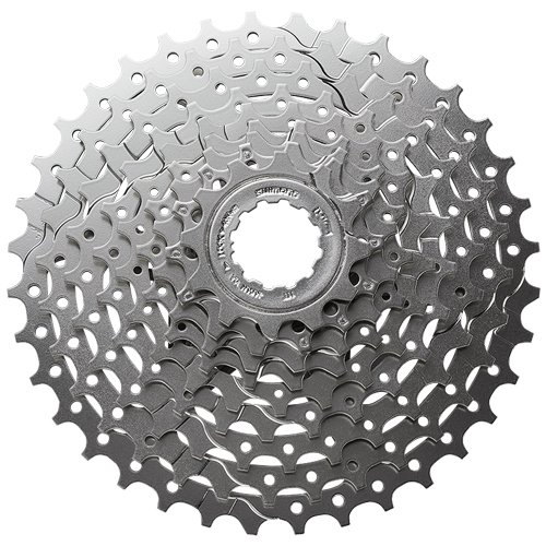 Shimano CASSETTE SPROCKET, CS-HG400-9, 9-SPEED, 12-14-16-18-21-24-28-32-36(BH), PRE-ASSEMBLED (CS CAP) by SRAM (Image #1)
