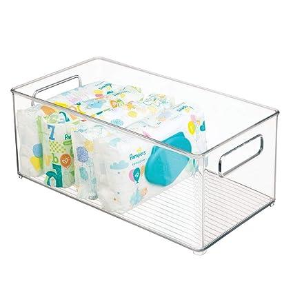 mDesign cesta organizadora para accesorios bebe - Cesta ...