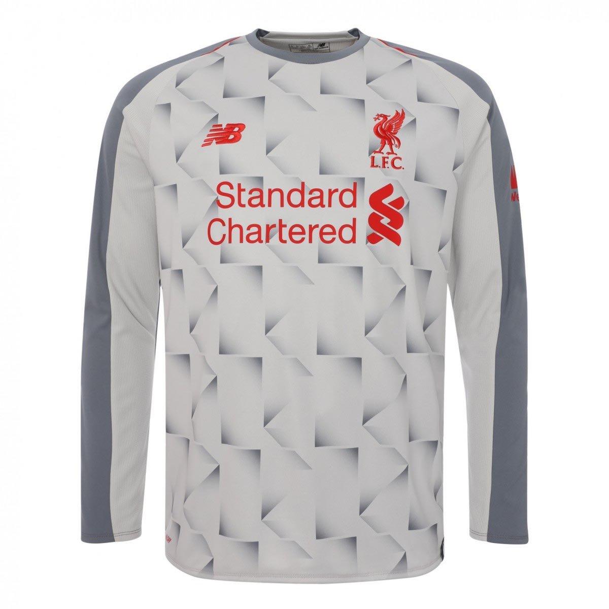 New Balance 2018-2019 Liverpool Third Long Sleeve Football Soccer T-Shirt Trikot