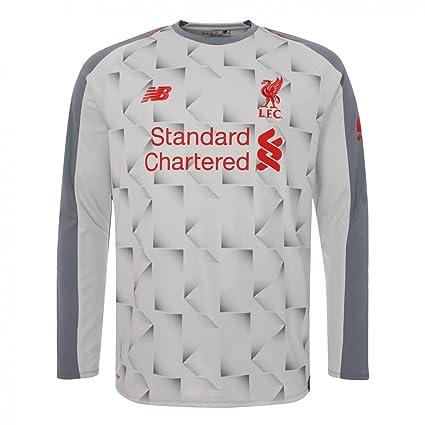 1f553e4fd18 New Balance 2018-2019 Liverpool Third Long Sleeve Football Soccer T-Shirt  Jersey