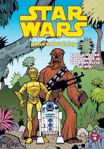 (Clone Wars Adventures. Vol. 4 (Star Wars: Clone Wars Adventures))