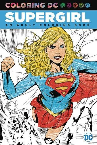 Supergirl: An Adult Coloring (Drawing Ideas For Kids Halloween)