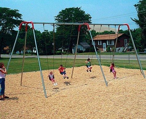 Sportsplay Swing Seats (Sportsplay Modern Tripod Swing, 8 ft. - 4 Seats)