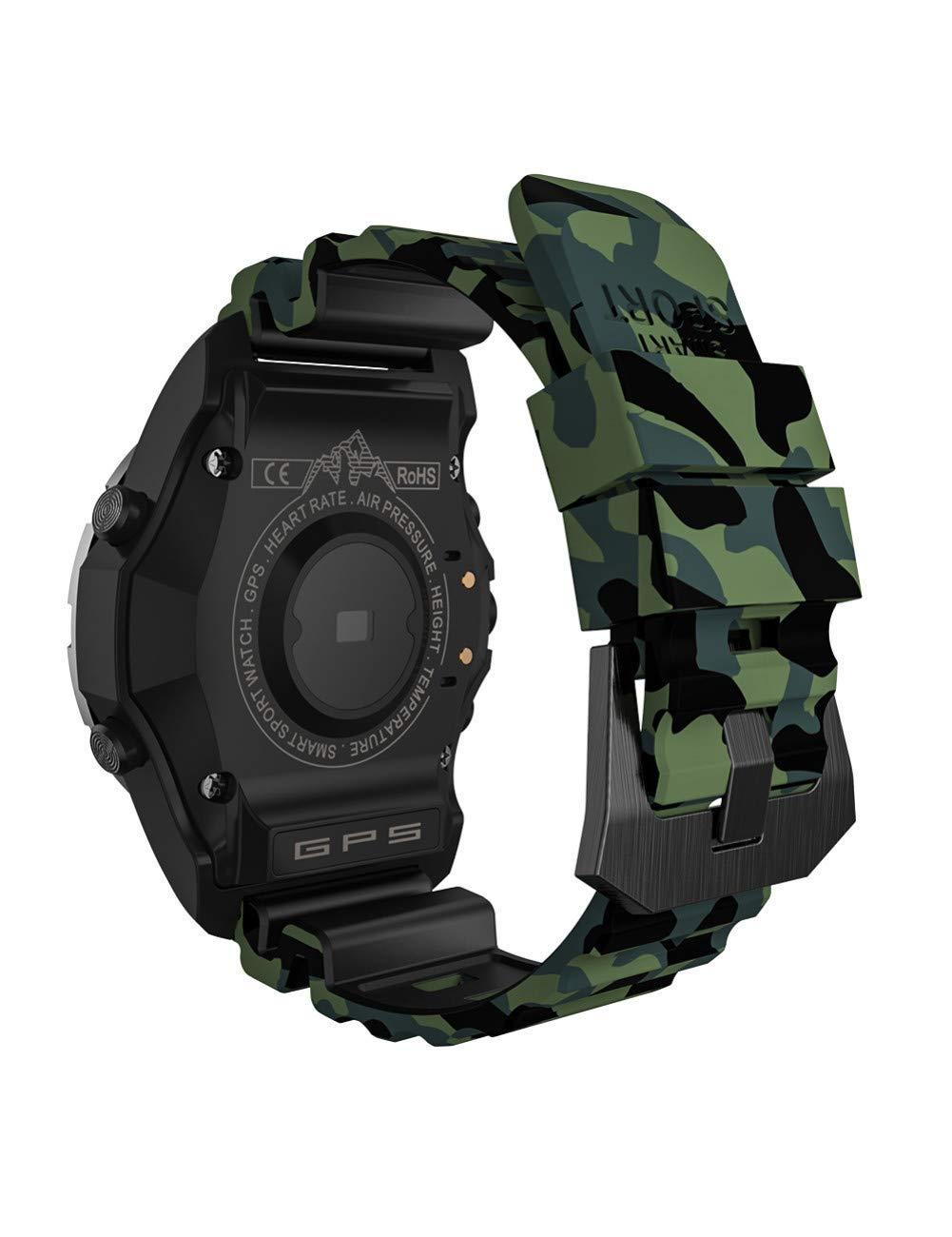 YJKLB Reloj Inteligente S966 GPS Smart Watch Smartwatch Monitor De ...