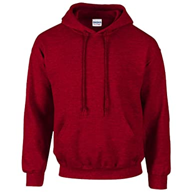 Gildan Heavy Blend™ Adult Hooded SweatShirt Cherry Red S